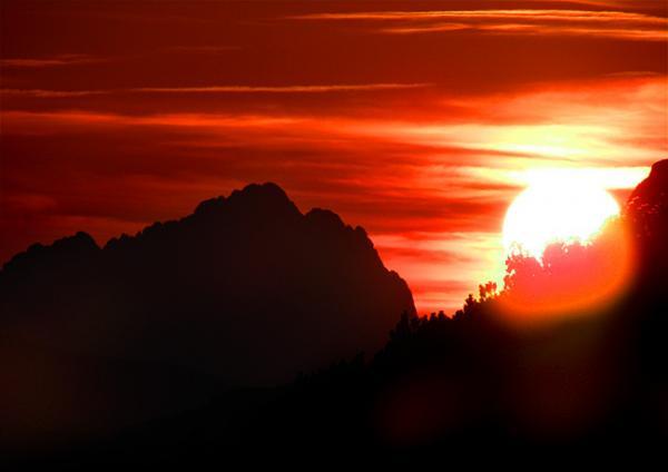 So würde die Sonne aussehen ...